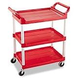 3-Shelf Utility Cart