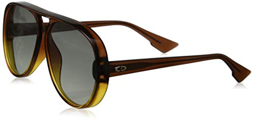 DiorLia 12J Brown Orange Sunglasses
