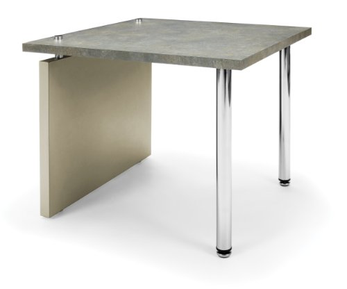 - OFM 2014-PCA End Table, 20 by 20-Inch, Gray
