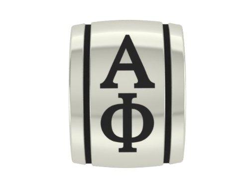 Alpha Phi Barrel Sorority Bead Fits Most European Style Charm Bracelets
