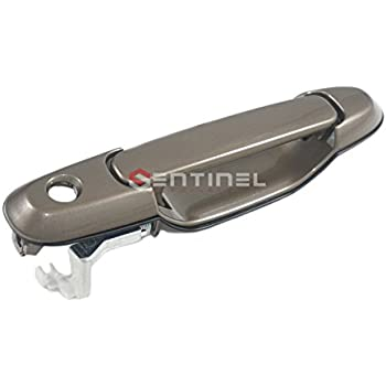 Sentinel Parts 98-03 Toyota Sienna Front Left Driver Side Outside Door Handle 4N7 Sable Pearl
