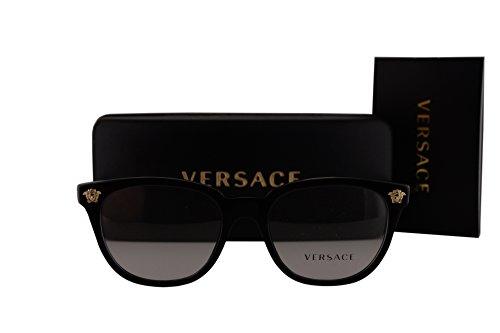 Versace VE3242 Eyeglasses 54-18-140 Black w/Demo Clear Lens GB1 VE - Prescription Glasses Versace Non