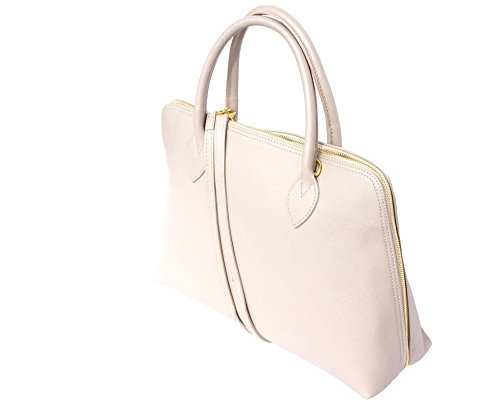 Saffiano Beige Femme Florence Leather En Market Business Cuir Pour Sac 308 Cartable z7gzfTq