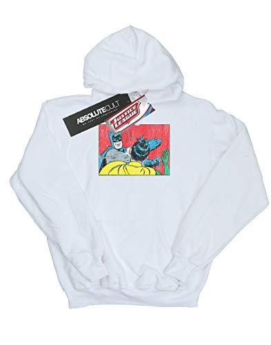 Robin Batman Slap Mujer Capucha League Dc Justice Blanco Comics wXqHI6