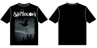 Satyricon - Dark Medieval Times T-Shirt , LARGE