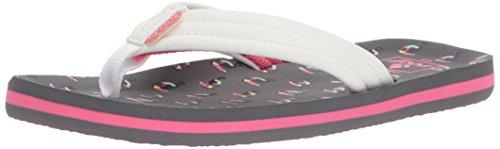 (Reef Girls' Little AHI Sandal, TUCANS, 3-4 Medium US Toddler)
