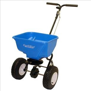 EarthWay 2130 EV-N-SPRED 65lb Ice Melt Sand Salt Snow De-Icers Seed Commerical HIGH-OUTPUT Broadcast Spreader by AI Products