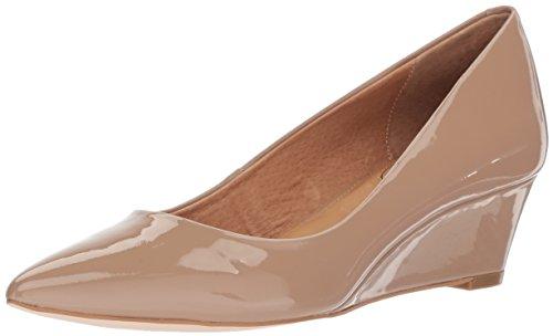 Opportunity Shoes - Corso Como Women's Nelly Pump, Dark Nude Soft Patent, 7.5 Medium US