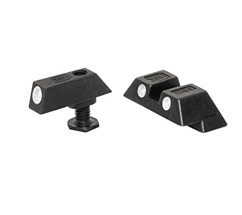Glock Pair 6.9mm Night Sight Tritium OEM Factory GNS04 - Glock Green Front Sight