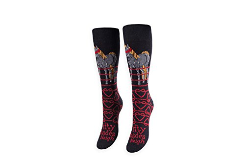 Price comparison product image 50 Shades of Neigh Over the Calf Socks - Freaker Feet - Made in America