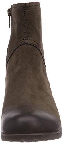 Timberland Putnam FTW_EK Putnam Zip Ankle WP Boot - Botines chelsea de cuero mujer marrón - Braun (Dark Brown Nubuck)