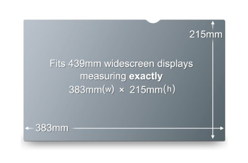 "3M Privacy Filter for 17.3"" Widescreen Laptop (PF173W9B)"