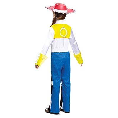 Disney Pixar Jessie Toy Story 4 Deluxe Girls' Costume: Toys & Games