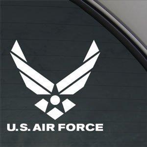 (AIR FORCE Decal Truck Bumper Window Vinyl Sticker | 4.5 In | KCD193)