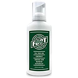 Tea Tree Oil Foaming Therapeutic Body and Foot Wash - Lavender, Peppermint, Eucalyptus, Rosemary - Promotes Healthy Skin, Feet and Nails - Fights Body Odor, Ringworm, Excema, Jock Itch, Athlete's Foot