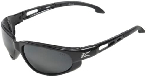 Edge Eyewear SW111 Dakura Safety Glasses Black with Clear Lens