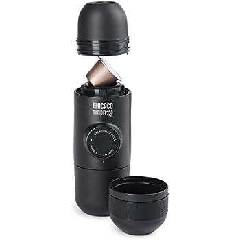 Wacaco Company Minipresso NS, Compatible with Nespresso Brand Capsules