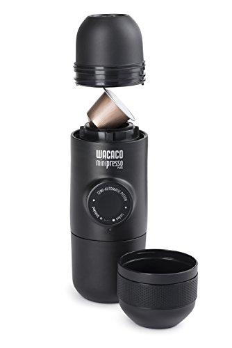 Wacaco Company MPNS100  Minipresso NS, Compatible with Nespresso Brand Capsules