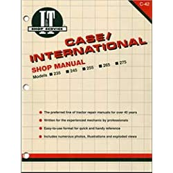Case-IH 265 Tractor Service Manual (IT Shop)