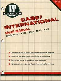Case-IH Tractor Service Manual (IT-S-C42) by Jensales