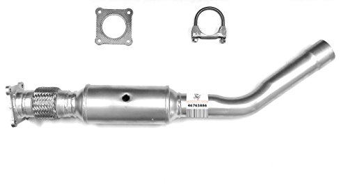 TED Direct-Fit Catalytic Converter Fits: 2005-2007 Dodge Grand Caravan 3.3L/3.8L/2005-2007 Chrysler Town & Country 3.3L/3.8L