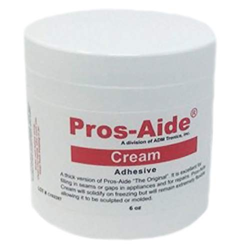 Pros-Aide® Cream Adhesive 6 Oz. Jar - Official Product of ADM tronics