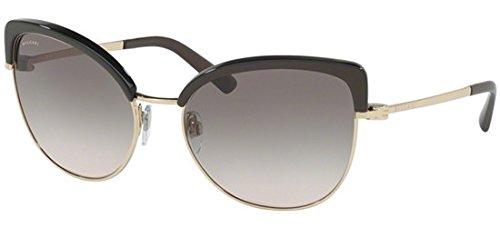 Bvlgari 0Bv6082 278/3B 58, Gafas de sol para Mujer, Dorado ...
