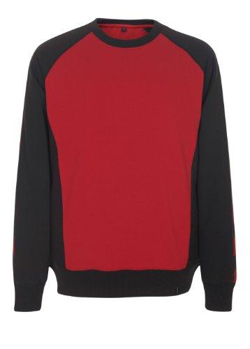 "Mascot Sweatshirt ""Witten"", 1 Stück, S, rot/schwarz, 50503-830-0209-S"