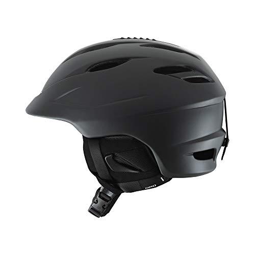 Giro Seam Snow Helmet Matte Black/Bright Red Small (52-55.5 cm)