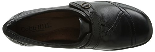 Rockport Cobb Hill Mujeres Pamela-ch Mary Jane Flat Black