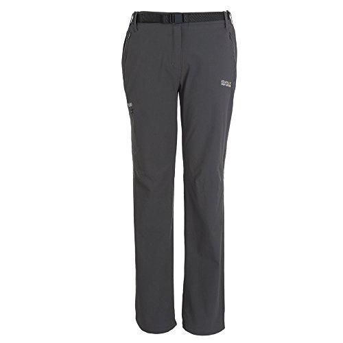 Regatta Womens/Ladies Xert II Stretch Quick Drying Walking Trousers II Black
