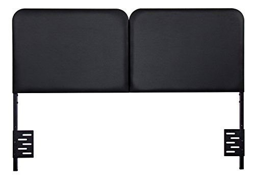 SLEEPLACE Steel Headboard with Faux Leather HB-1000