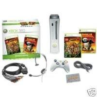 Xbox 360 Console 60gb with 2 Bonus Games (kung fu panda/indiana jones original adventures)