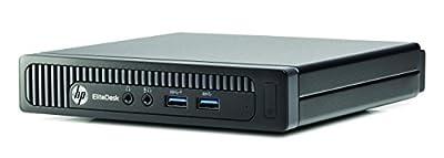 HP EliteDesk 705 G1 Tiny Desktop PC - AMD A8 Pro-7600B 3.1GHz, 8GB, 500GB, Windows 10 Professional (Certified Refurbished)