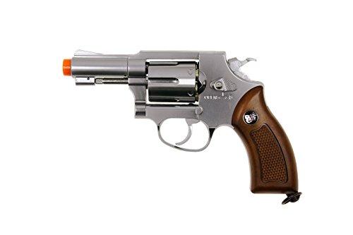 wg model-731s full metal m36 revolver co2 nbb/silv(Airsoft Gun)