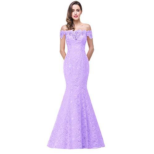 Ailin Blanc 12 Robe De D'honneur Taille couleur Lavender Home Demoiselle gtwqfPxnqT