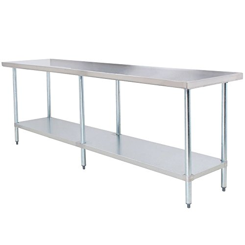 X Work Table Stainless Steel Food Prep Worktable Restaurant - Restaurant supply prep table