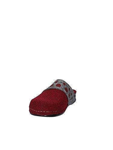Grunland 42 Femmes CI2255 Chaussons Rouge arwPOr6q0W