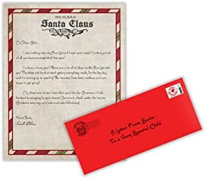 Letter from Santa Claus Letter from The North Pole