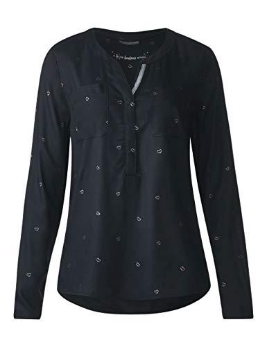 21017 neo Street Para Mehrfarbig Mujer Blusa Grey One qwngH46
