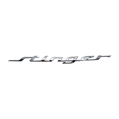 Stinger Rear (KIA Parts OEM 86311J5000 Stinger Rear Emblem Nameplate for KIA Stinger 2017-2018)