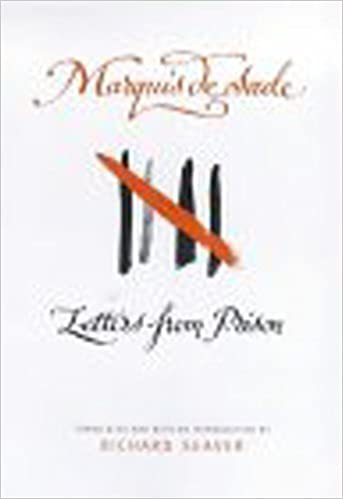 Ebook Letters From Prison By Marquis De Sade
