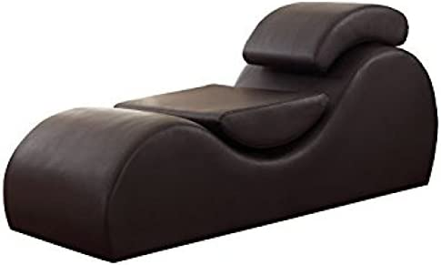 Versa Chair Living Room Multi-Functional Yoga Gaming Relaxation Meditation Outdoor Indoor TV Exercise Stretch Chaise Chair Reduce Stress Increase Intimacy Faux Leather Leatherette
