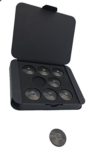 Set of 8 Satin Black Hi-Fi Spike Shoes Isolation Pads by Soundbass by Sound Bass (Image #3)
