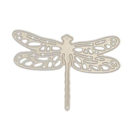 Cutting Dies,Hstore Dragonfly Balloon boy and Girl Flowers Paper Card Making Metal Die Cut Stencil Template for DIY Scrapbook Photo Album Embossing Craft Decoration ()