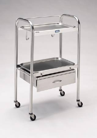 Mckeesson Anesthetist Cart Stainless Steel