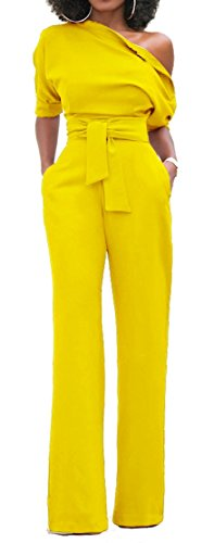 Yellow Ankle Pants - 9