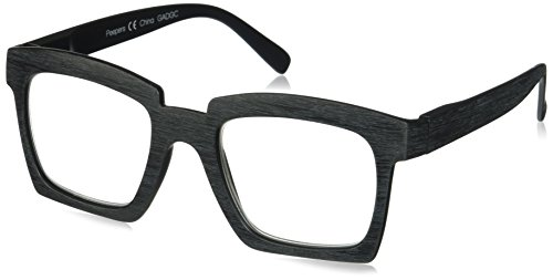 Peepers Women's Standing Ovation 2393200 Square Reading Glasses, Black, 2