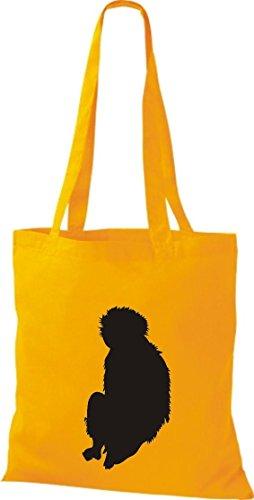 Mujer Bolso Para Tela Amarillo Algodón Krokodil De x0qH87nwz7
