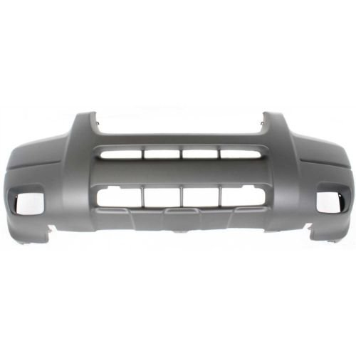 Perfect Fit Group F010322 - Escape Front Bumper Cover, Textured, Platinum, W/ Fog Lamp Hole, W/O Mldg. Hole, Xls/ Xlt Model (2001 Ford Escape Xlt)